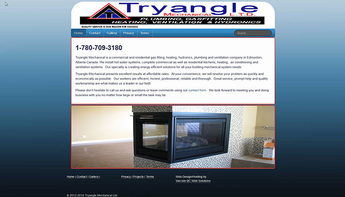 tryangle mechanical commercial plumbing services